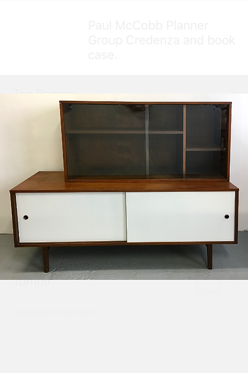 Paul McCobb Planner Group Credenza & Bookcase