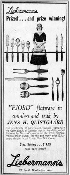 Dansk Design Fjord Flatware