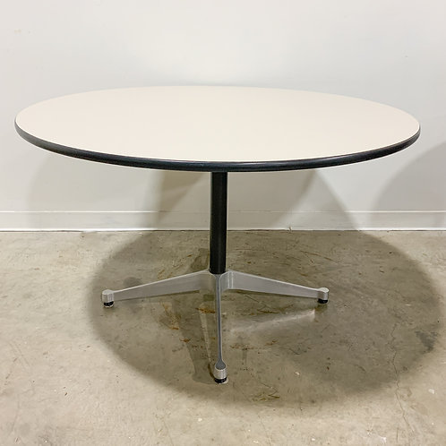 """Eames Contract Base 54"""" dining table"""
