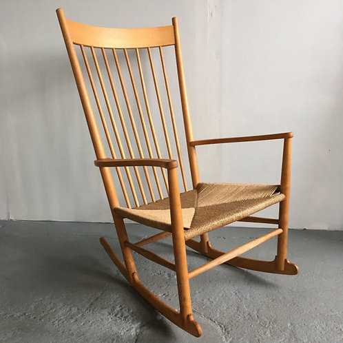 Hans Wegner J-16 rocking chair