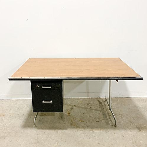 Designer Hugh Acton's own desk from his studio