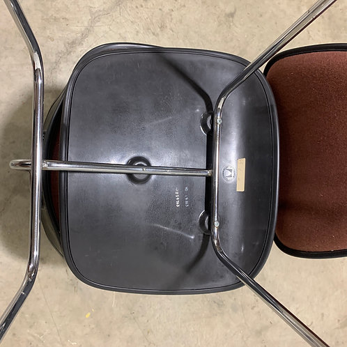 Pair of Eames EC-127 chairs