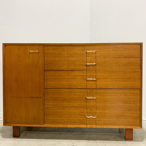 George Nelson 1950s tall dresser / armoire