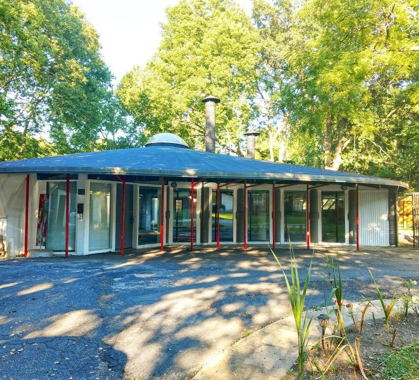 Mid century Modern home in Urbana