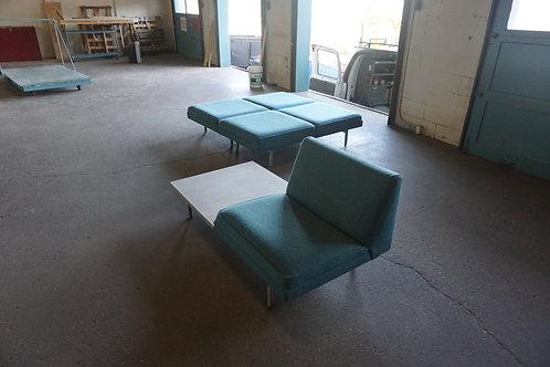 George Nelson Herman Miller Modular seating set