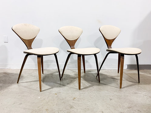 3 Plycraft chairs by Norman Cherner