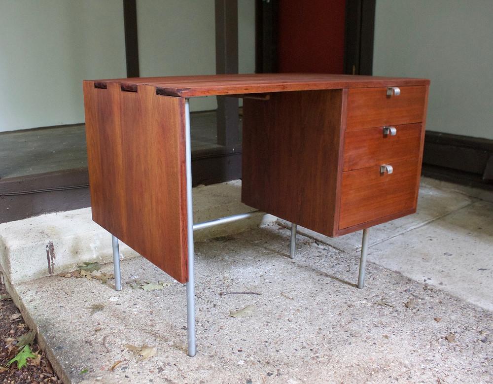george nelson desk, herman miller, mid century design