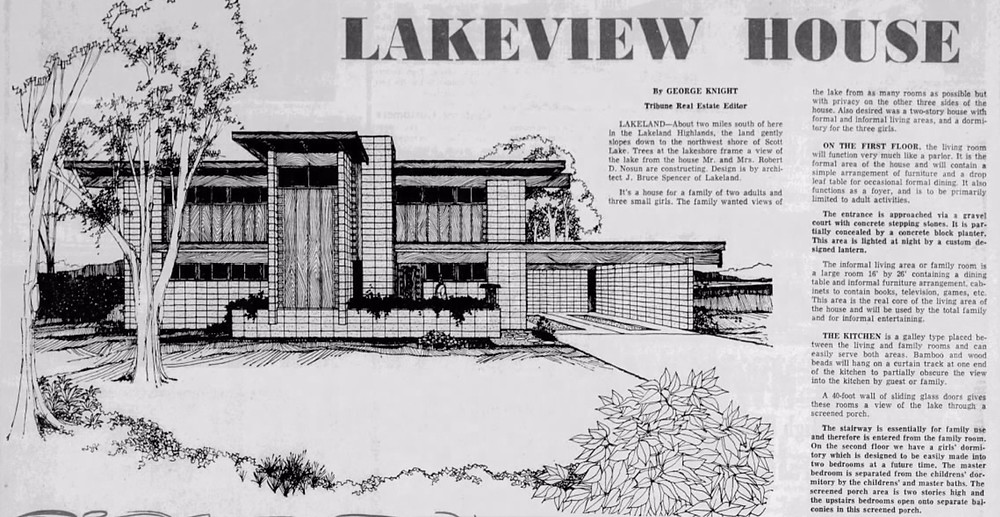 Bruce Spencer architect Lakeland FL