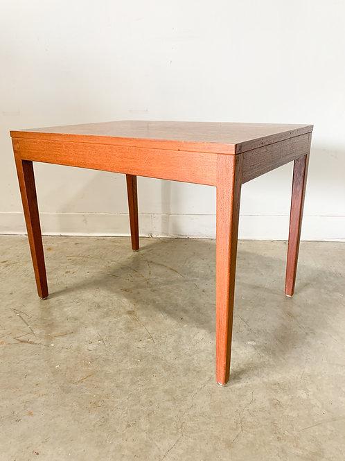 George Nelson Walnut Side Table 1950s Herman Miller