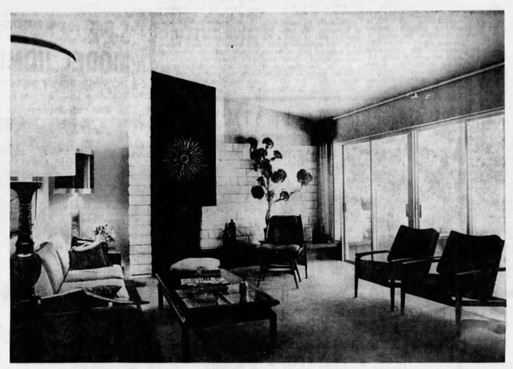Ralph Galloway's family home interior view