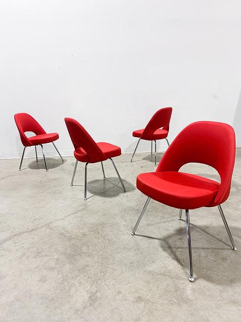Eero Saarinen Executive Side chairs by Knoll set of 4