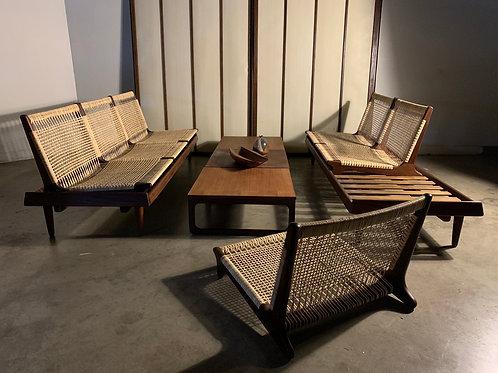 Hans Olsen Modular seating for Bramin