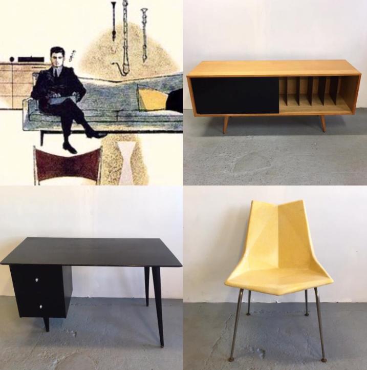 Paul McCobb furniture design 100th birthday