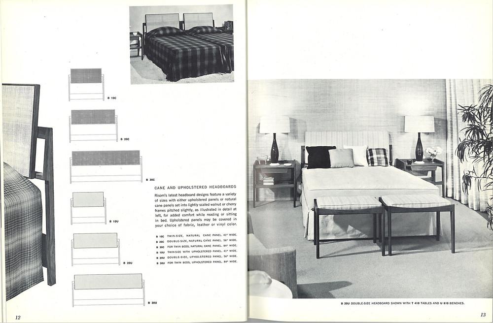 Jens risom vintage bed