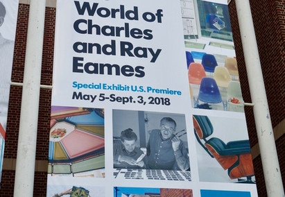 The World of Charles and Ray Eames Exhibition at the Henry Ford Museum