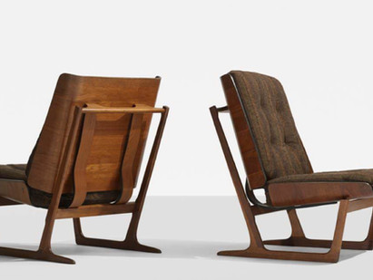 The Grete Jalk sled chair - a tale of misattribution.