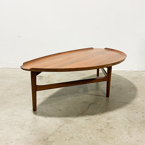 Rare Finn Juhl 521 1/2 Table by Baker Furniture