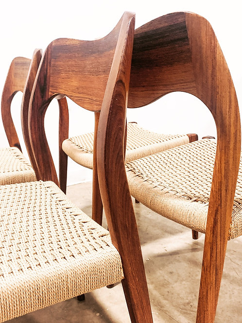 Rosewood Moller Dining chairs