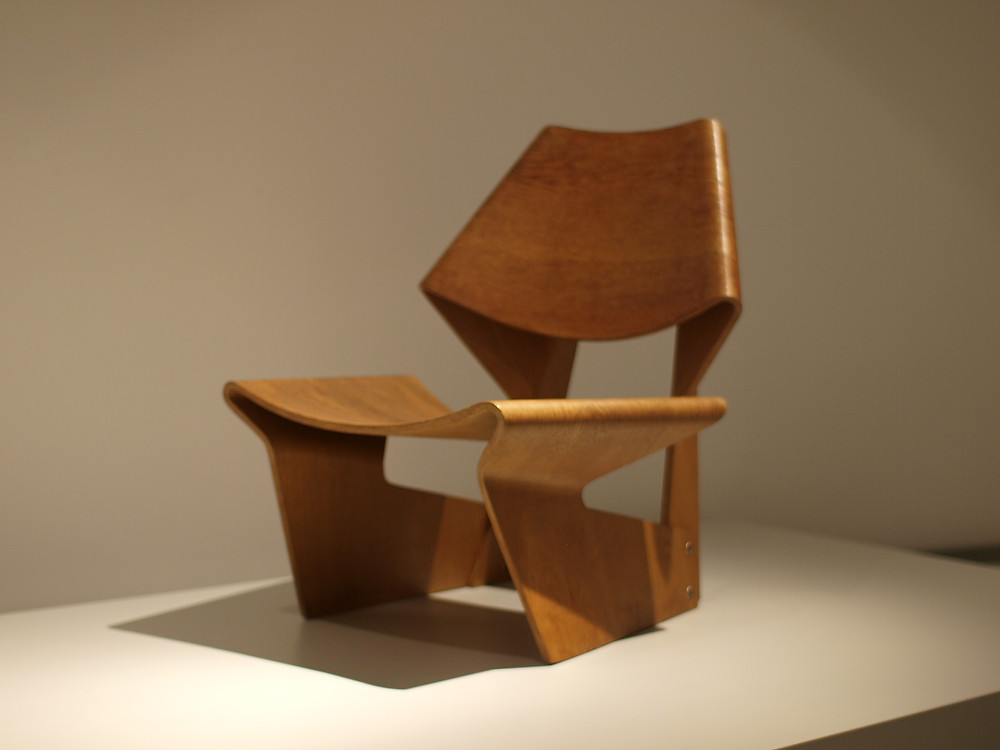 Greta Jalk plywood chair