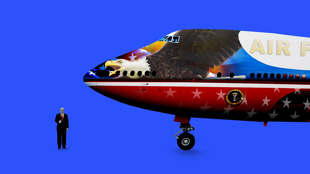 Trump Air Force One redesign