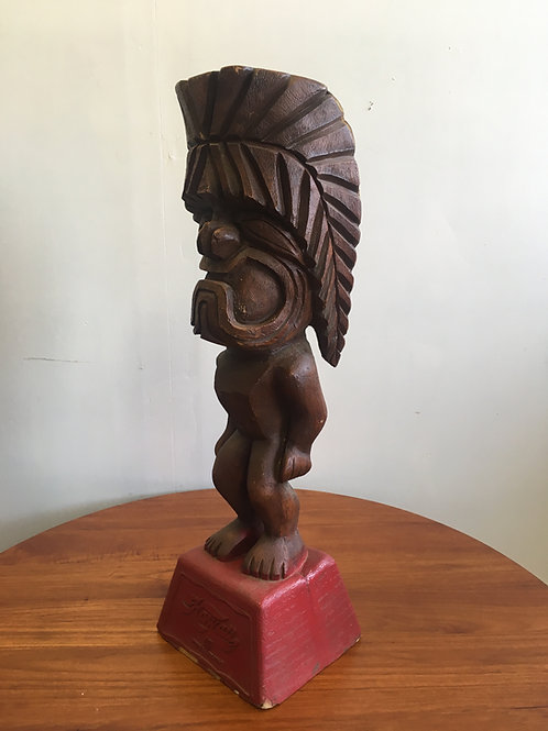 Vintage Tiki God statue by United Airlines Hawaii
