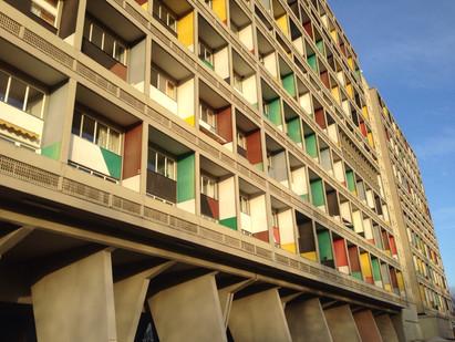 Visiting Corbusierhaus in Berlin