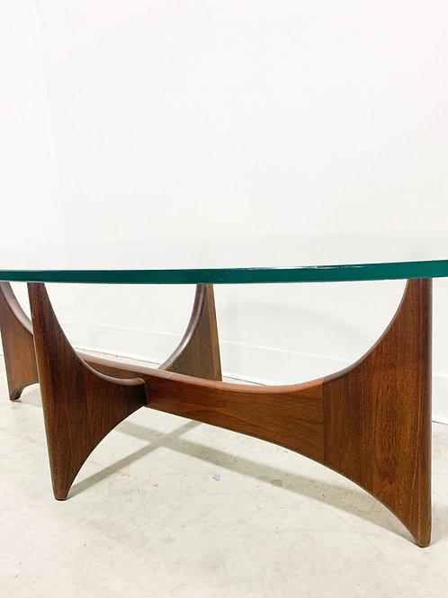 Adrian Pearsall Bow tie Walnut Coffee Table