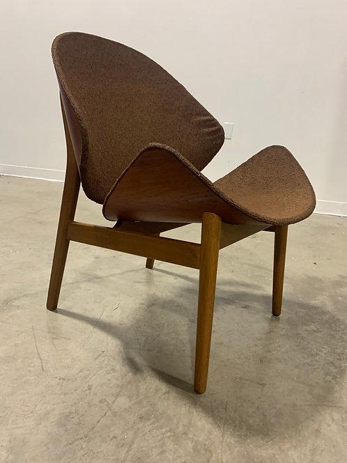 Rare Hans Olsen 'Appelsienen' chair