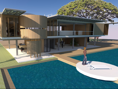 Paul Rudolph's Unbuilt Sarasota Masterpiece recreated in 3D