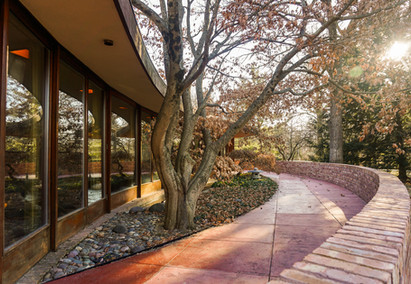 Touring the Laurent House in Rockford, IL:  Frank Lloyd Wright's 'Little Gem'
