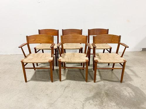 Borge Mogensen Dining chair set