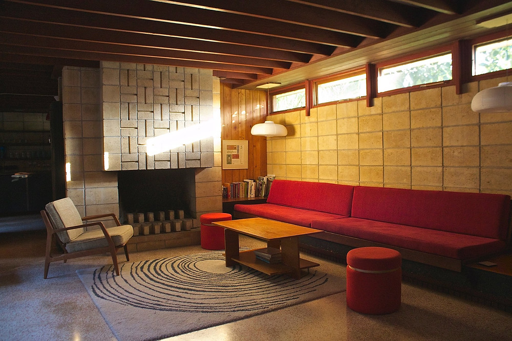 Mid-century modern, Ocala block, Frank Lloyd Wright, Clerestory windows, Usonian houses, Sarasota School of Architecture