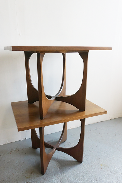 Pair of Broyhill Brasilia side tables