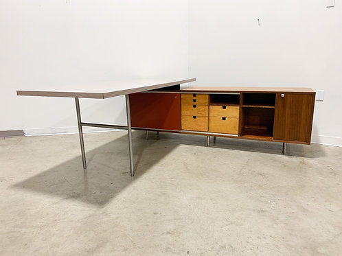 Early George Nelson EOG Desk and Credenza
