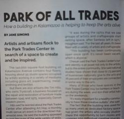 Article in Revue Magazine