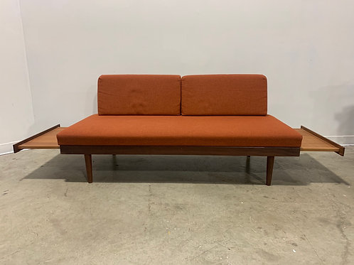 Teak daybed by Ingmar Relling made by Svane