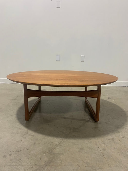 Peter Hvidt Teak Coffee Table for France and Son