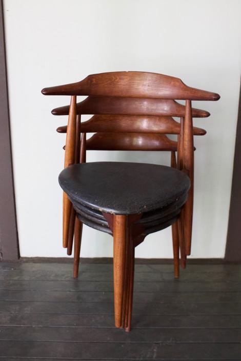 Hans Weger, Danish Chair, Rare Mid Century