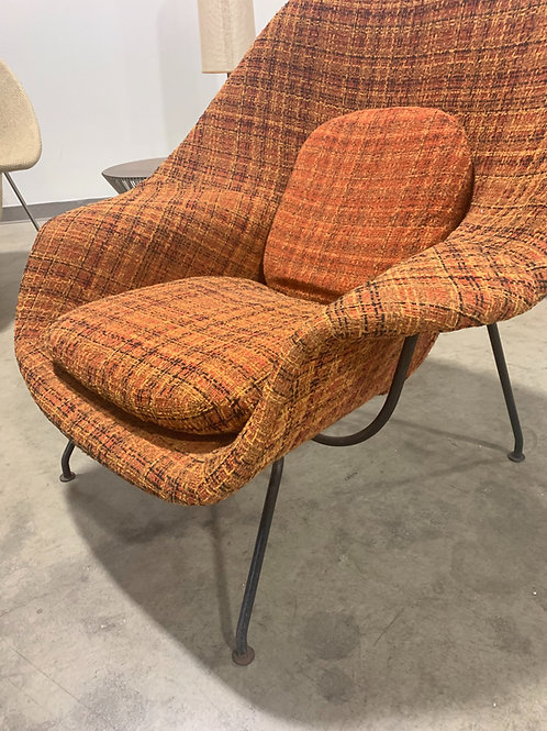 Early Authentic Knoll Womb Chair and Ottoman