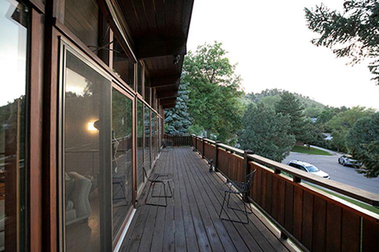 Mid century Modern home in Boulder