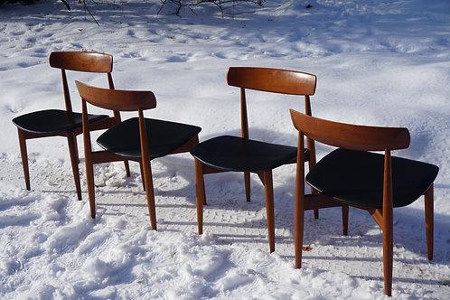 H.W. Klein Danish dining chairs by Bramin