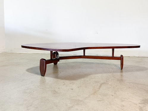 Outrigger table by John Keal for Brown Saltman
