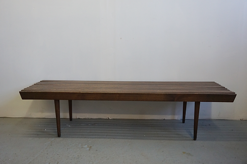 Slat bench coffee table