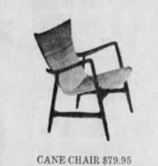 Cane Chair Kofod Larsen