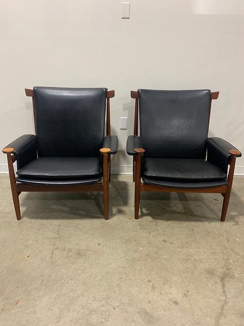 Finn Juhl Bwana chair (2 available)