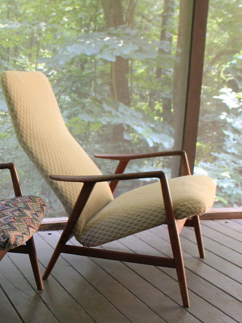 Danish lounge chair by Alf Svensson for Dux