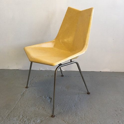 Rare Yellow Paul McCobb Origami Chair