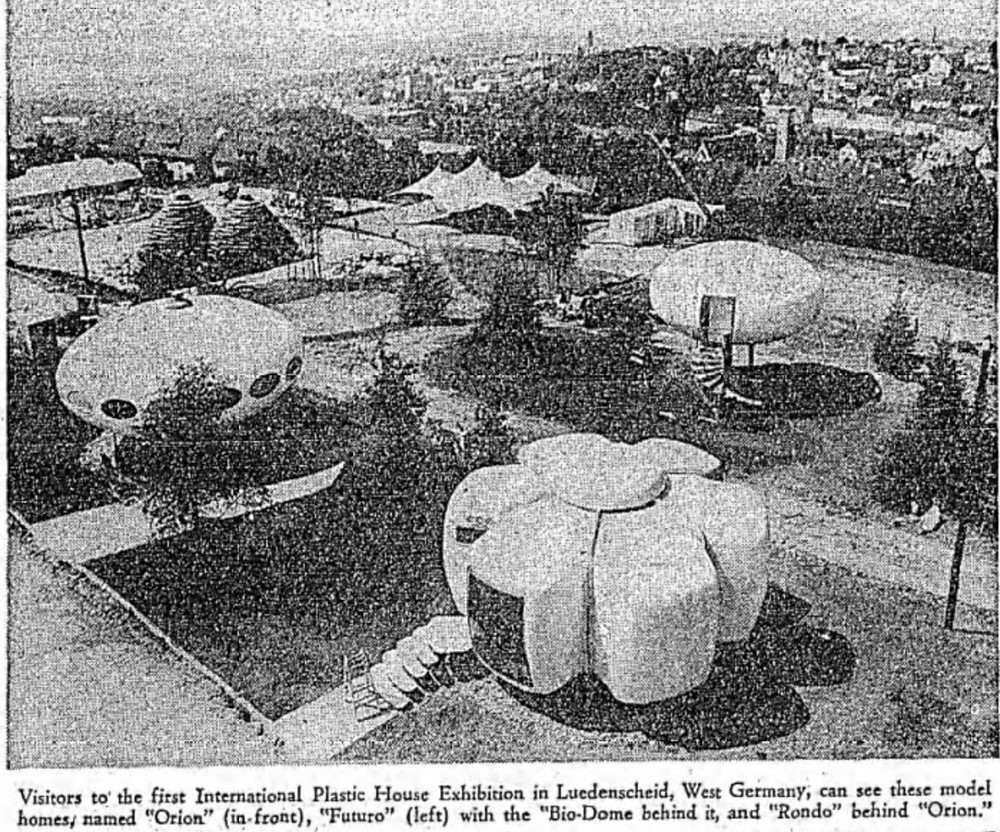 Mid-century plastic homes in Germany