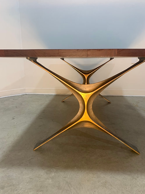 George Nelson Bronze group table