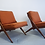 Thumbnail: Folke Ohlsson Scissor chairs